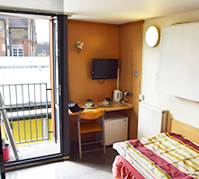 Single rooms Horizons Accommodation
